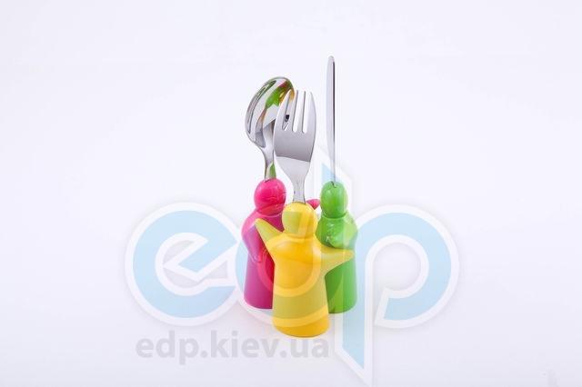 Fissman - Набор детских столовых приборов 3 пр. (нерж. сталь) (арт. CY-3007.3)