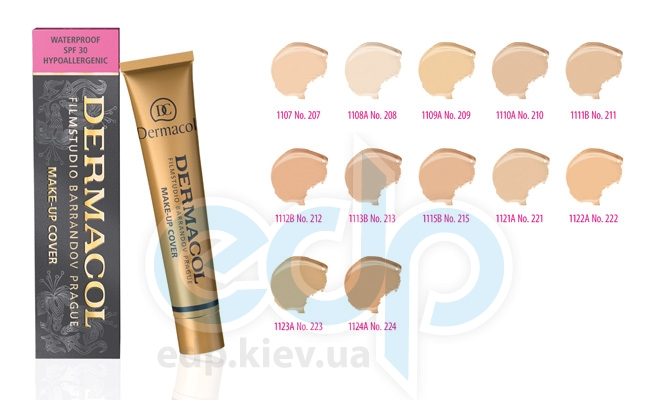 Dermacol Cover Тональный крем с повышенными маскирующими свойствами № 208 - 30 ml (15776)