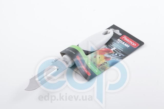 Fissman - Нож для чистки овощей P-форма MIAMI (арт. GT-1707.PP)