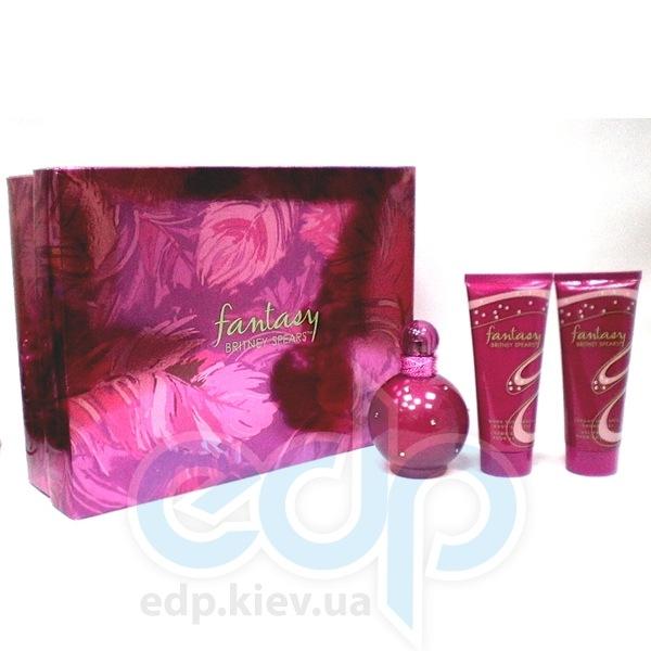 Britney Spears Fantasy -  Набор (парфюмированная вода 30 + лосьон-молочко для тела 50 + гель для душа 50)