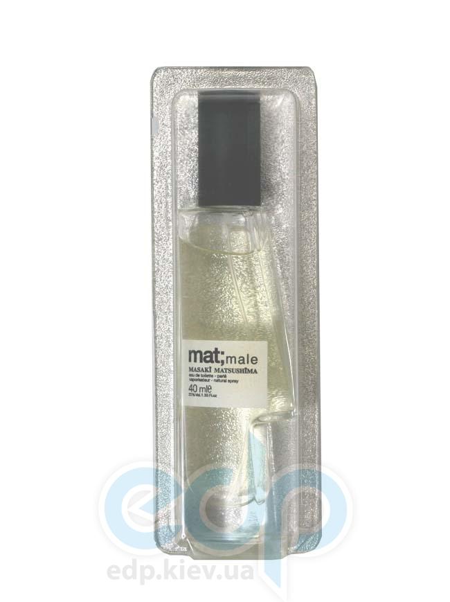 Masaki Matsushima Mat Male - туалетная вода - 40 ml