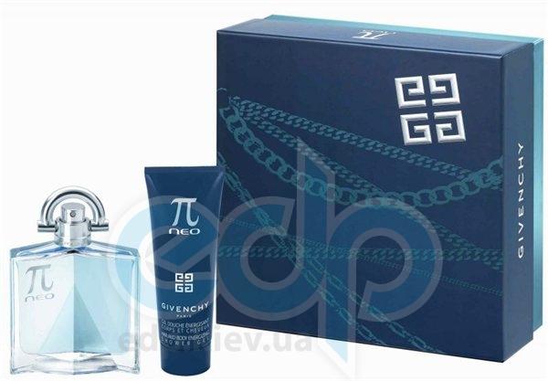 Givenchy Pi Neo -  Набор (туалетная вода 50 + гель для душа 75)