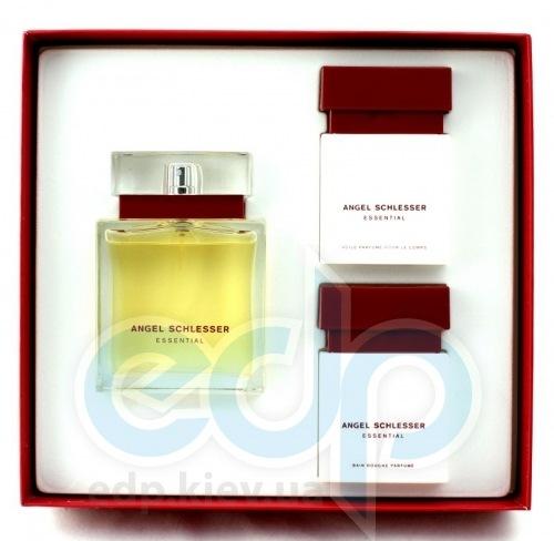 Angel Schlesser Essential -  Набор (парфюмированная вода 100 + лосьон-молочко для тела 75 + гель для душа 75)