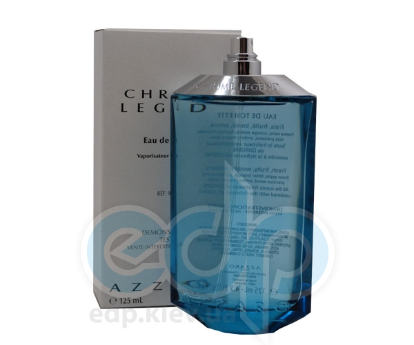 Azzaro Chrome Legend - туалетная вода - 125 ml TESTER