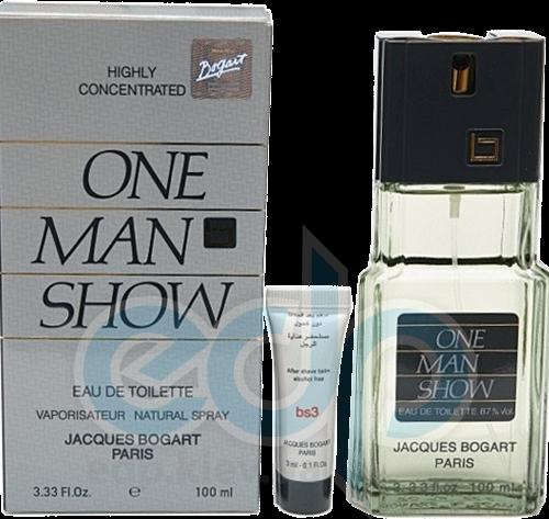 Bogart One Man Show -  Набор (туалетная вода 100 + бальзам после бритья 3ml)