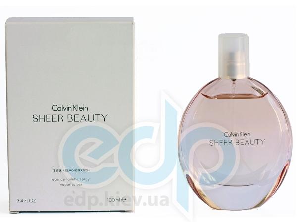 Calvin Klein Sheer Beauty - туалетная вода - 100 ml TESTER