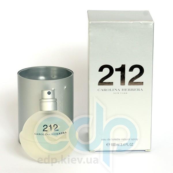 Carolina Herrera 212 For Women - туалетная вода - 60 ml TESTER