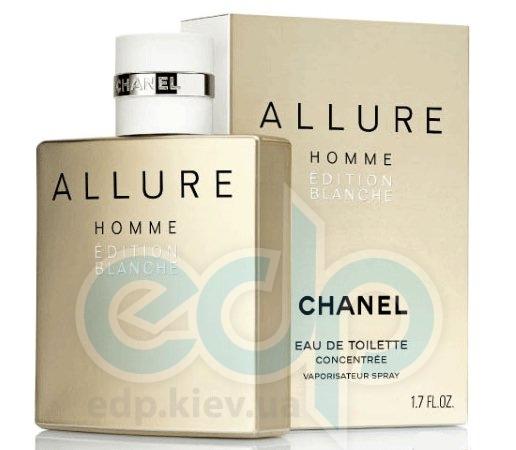 Chanel Allure Homme Edition Blanche - туалетная вода -  пробник (виалка) 2 ml