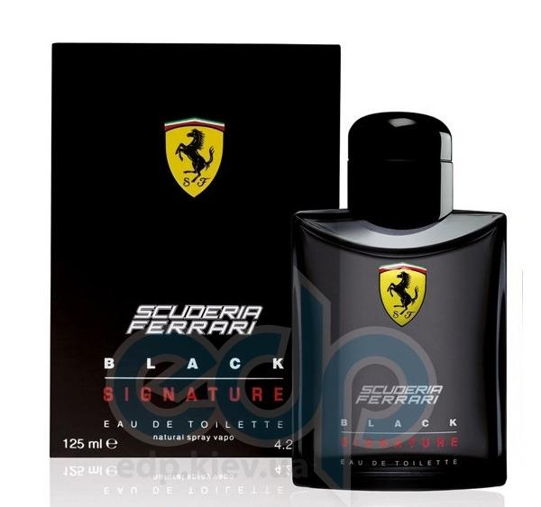 Ferrari Scuderia Black Signature  - туалетная вода - 125 ml TESTER