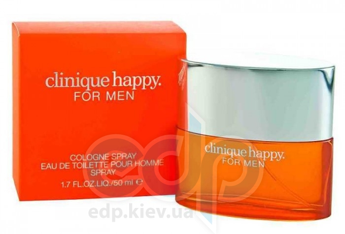 Clinique Happy for men - одеколон - 50 ml