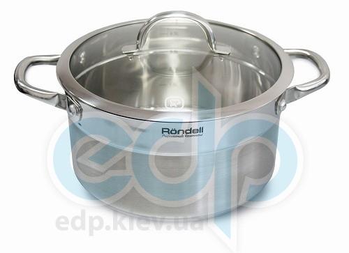 Rondell - Кастрюля Creative с крышкой - диаметр 24 см. объем 5.4 л (арт. RDS-388)