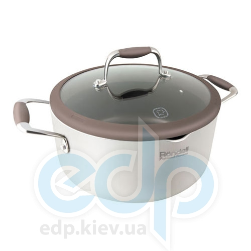 Rondell - Кастрюля Latte с крышкой - диаметр 20 см. объем 2 л (арт. RDA-531)