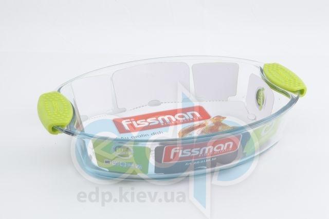 Fissman - Формадлявыпечки с силиконовыми ручками - размер 30.4х21.3х6.3 см - объем 2 л (арт. AG-6135.30)