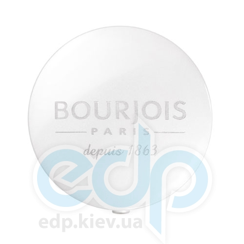 Тени для век 1-цветные компактные Bourjois - Depuis 1863 №90 Полупрозрачный белый - 1.5 g