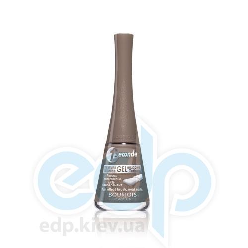 Лак для ногтей стойкий, с эффектом мгновенного высыхания Bourjois - 1 Seconde №04 Темно-бежевый - 9 ml