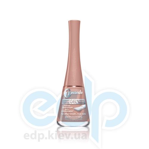 Лак для ногтей стойкий, с эффектом мгновенного высыхания Bourjois - 1 Seconde №03 Бежевый - 9 ml