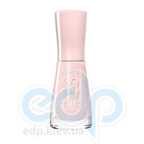 Лак для ногтей стойкий, с эффектом бриллиантового блеска Bourjois - So laque glossy №01 - 10 ml