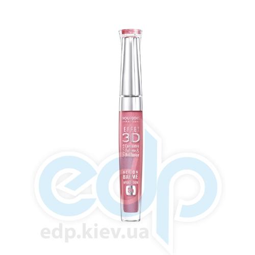 Блеск для губ устойчивый с эффектом бальзама Bourjois - Effet 3D Balm Action 8h №05 Бежево-розовый - 5.7 ml