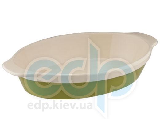 Granchio - Форма для запекания овальная Green Ceramica (арт. 88515)