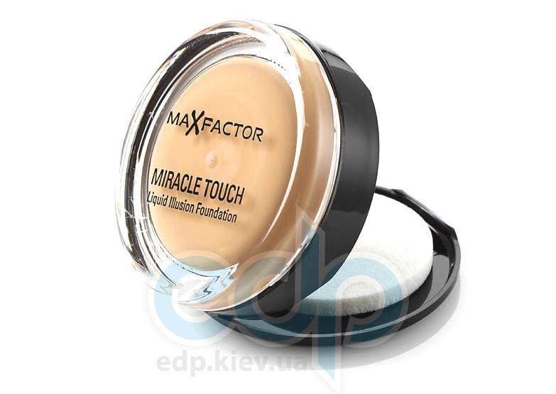 Крем-пудра для лица компактная Max Factor - Miracle Touch №85 Карамель - 11.5 g