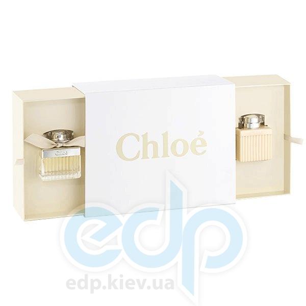 Chloe New 2008 -  Набор (парфюмированная вода 50 + лосьон-молочко для тела 100)
