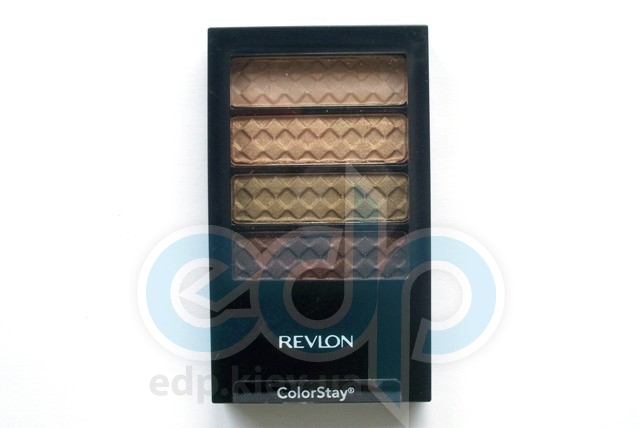 Тени для век cтойкие 12-часовые Revlon - Colorstay №03 Нейтральный хаки