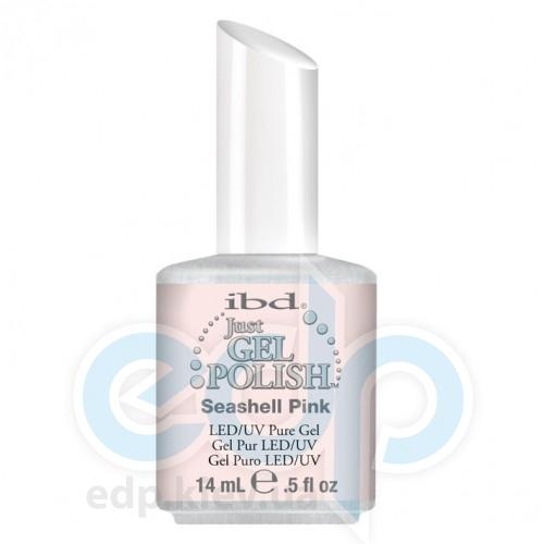 ibd - Just Gel Polish - Seashell Pink Полупрозрачный светло-бежевый, глянец. №513 - 14 ml