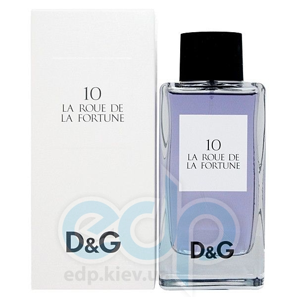 Dolce Gabbana Anthology La Roue de La Fortune 10 - туалетная вода - 20 ml