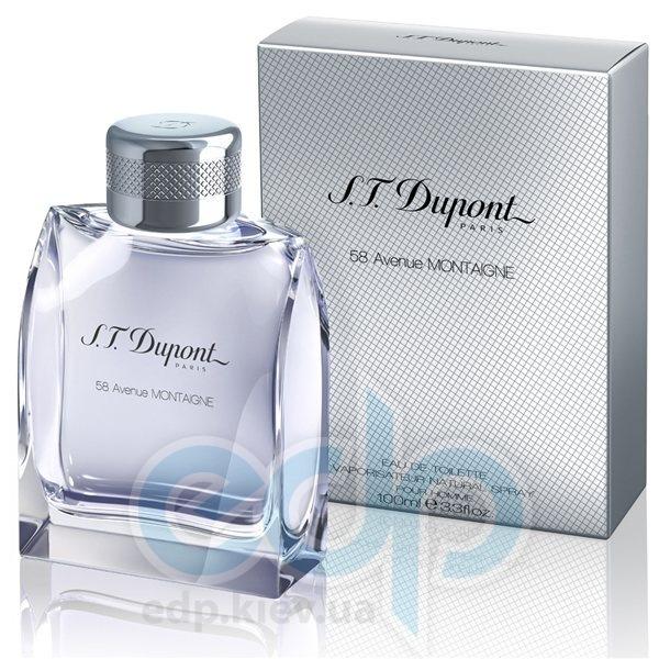 Dupont 58 Avenue Montaigne pour Homme - туалетная вода - 100 ml