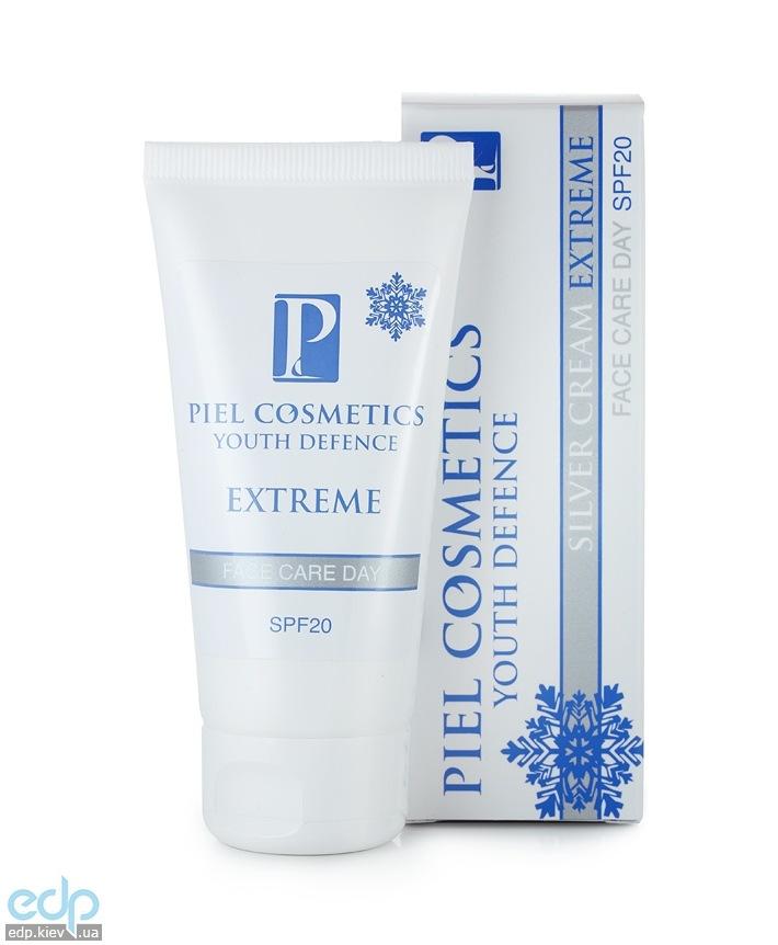 Piel Cosmetics Piel Silver Cream Extreme SPF 20 Face Care Day - Ежедневный зимний дневной уход за лицом для всех типов кожи - 50 ml