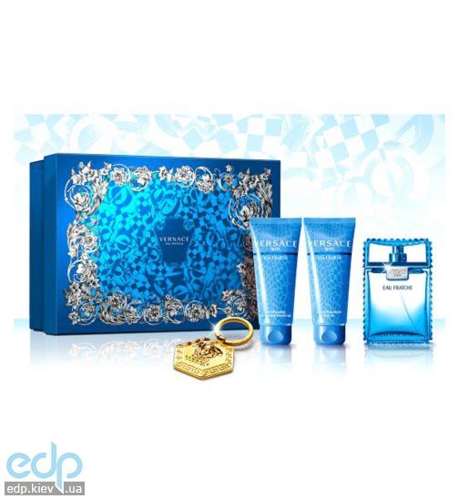 Versace Man Eau Fraiche - Набор (туалетная вода 100 + 10 ml туалетная вода - ec1df850f90de