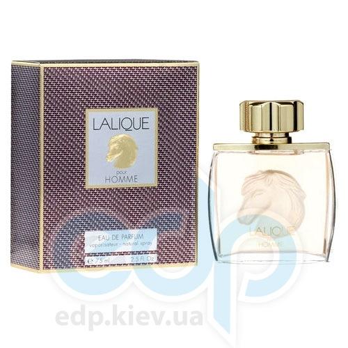 Lalique Equus Pour Homme -  Набор (парфюмированная вода 75 + дезодорант стик 75)