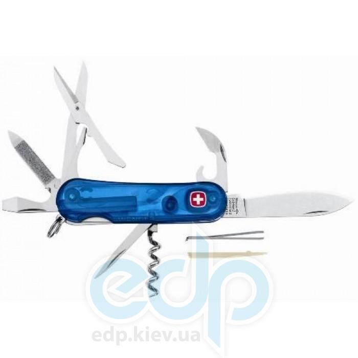 Wenger - Армейский нож Evolution полупрозрачный синий (арт. 1.14.09.416)