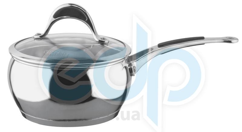 Vinzer (посуда) Vinzer -  Сотейник - нержавеющая сталь, диаметр 16см, 1,8л (арт. 89065)