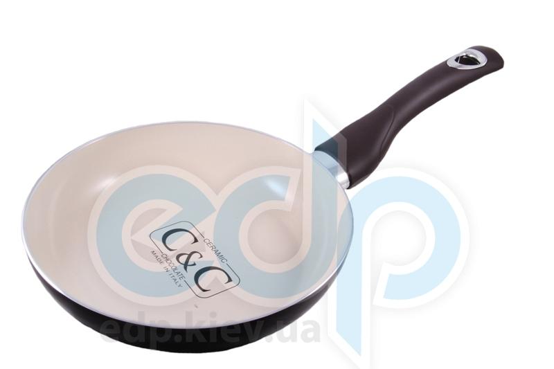 Lumenflon - Сковорода без крышки Ceramic & Chocolate диаметр 24 см (арт. CEC24)