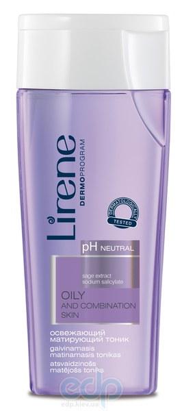 Lirene - жирная и комбинированная кожа Освежающий и матирующий тоник для лица - 200 ml