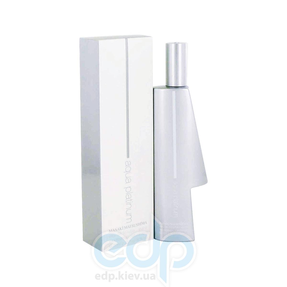 Masaki Matsushima Mat Aqua Platinum Homme - туалетная вода - 40 ml