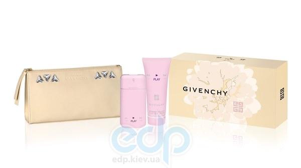 Givenchy Play for Her -  Набор (парфюмированная вода 75 + лосьон-молочко для тела 75 + косметичка)
