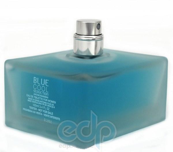 Antonio Banderas Blue Cool Seduction for Women - туалетная вода - 100 ml TESTER