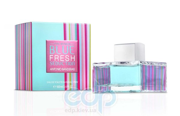 Antonio Banderas Blue Seduction Fresh for Women - туалетная вода - 100 ml