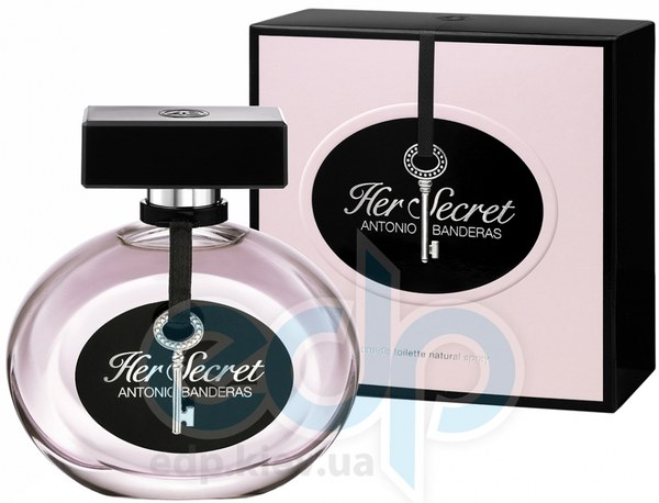 Antonio Banderas Her Secret - туалетная вода - 80 ml