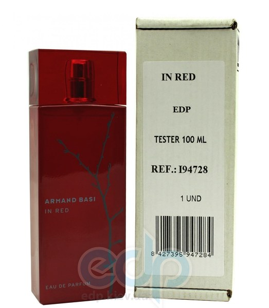 Armand Basi In Red Eau de Parfum - парфюмированная вода - 100 ml TESTER