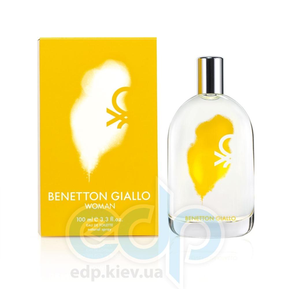Benetton Giallo Woman - туалетная вода - 100 ml