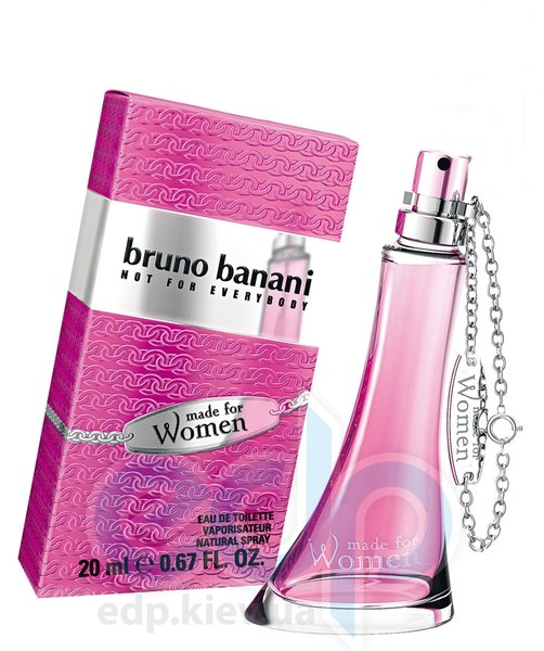 Bruno Banani Made For Women - туалетная вода - 60 ml
