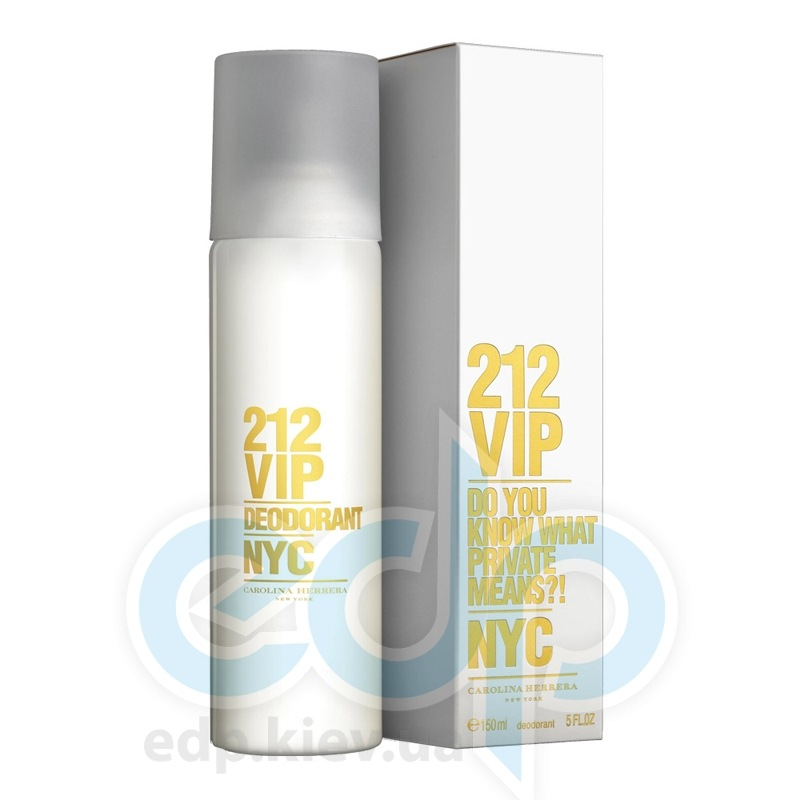Carolina Herrera 212 VIP -  дезодорант - 150 ml