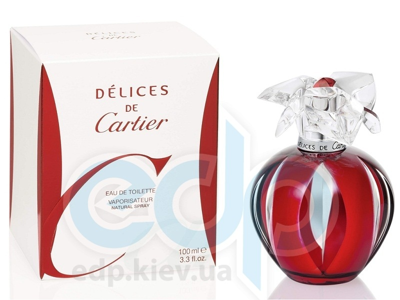 Cartier Delices - туалетная вода - 100 ml