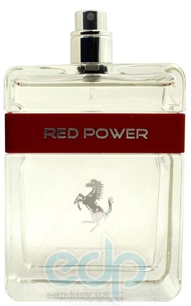 Ferrari Red Power - туалетная вода - 125 ml TESTER