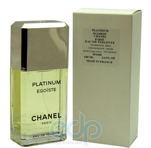 Chanel Egoiste Platinum - туалетная вода - 100 ml TESTER