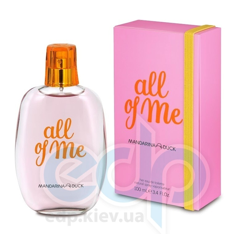 Mandarina Duck All Of Me For Her - туалетная вода - 100 ml TESTER