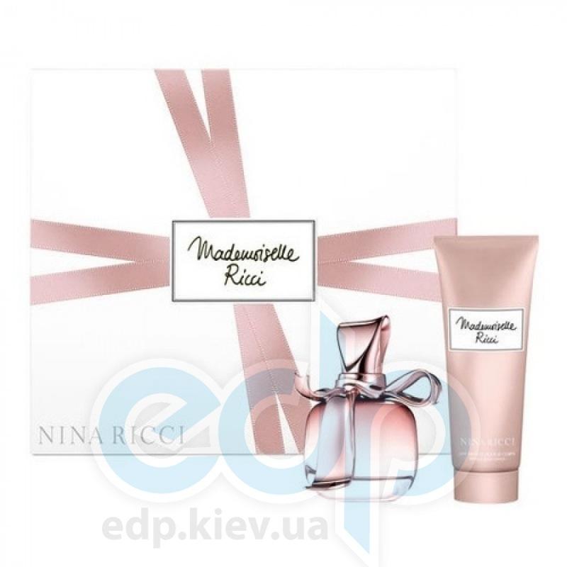 Nina Ricci Ricci Ricci Mademoiselle Ricci - Набор (парфюмированная вода 80 + лосьон-молочко для тела 200)